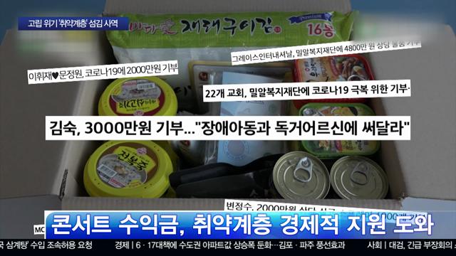 [특별기획] 고립 위기 '취약계층'…기독NGO 섬김 나서